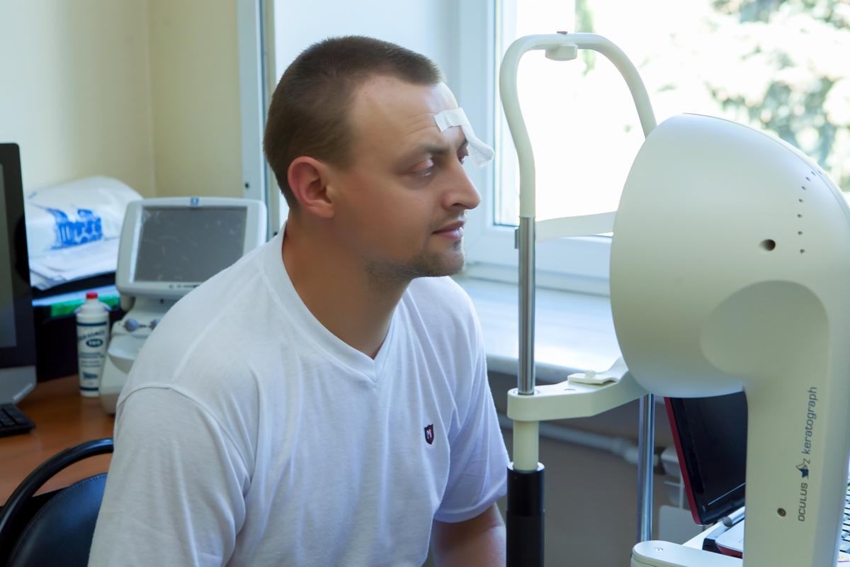 Тонометр бесконтактный для определения внутриглазного давления